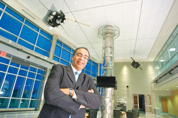 Johns Hopkins APL's Victor McCrary will scour local colleges for technology.