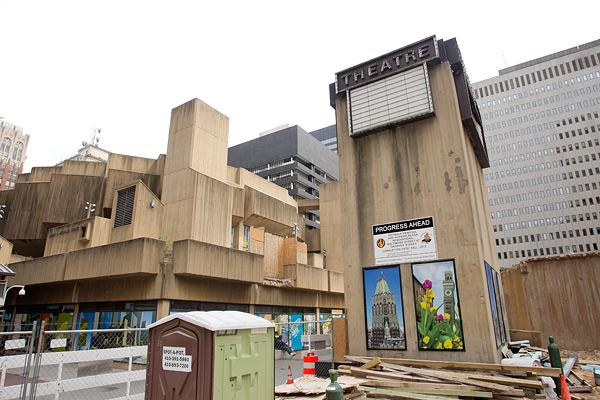 A city panel delayed a vote on Tuesday on whether to demolish the Mechanic Theatre.