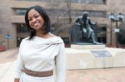 Tracy Miller, third-year student at the University of Baltimore School of Law.