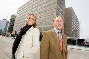 Whitney Nye and T. Courtenay Jenkins III of Cushman & Wakefield helped broker PNC Bank's 135,000-square-foot lease at 1 E. Pratt St.