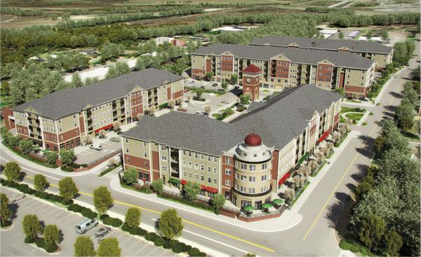 The Village at Odenton Station will feature 57,000 square feet of retail space and 235 apartments.