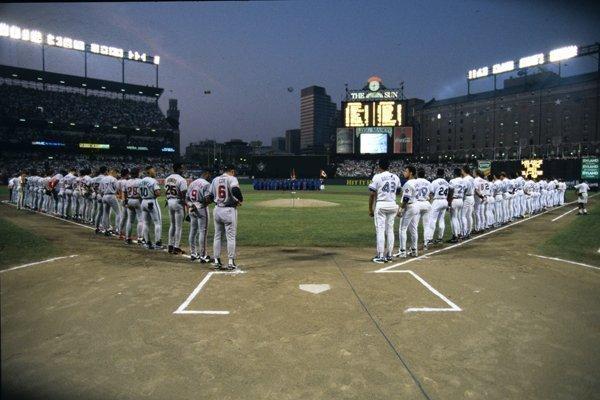 Oriole Park last hosted a Major League Baseball All-Star game in 1993.