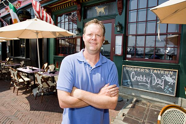 Patrick Russell expects his restaurants, including Kooper's Tavern, Slainte and Woody's Rum Bar to fare well Sept. 2-4.