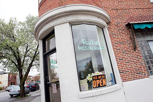 Rallo's Restaurant in Federal Hill is on the market for $1.7 million.