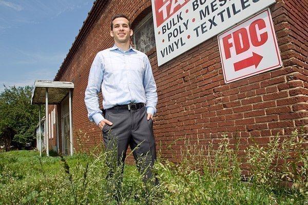 Developer Ross Taylor is building a $15 million apartment complex.