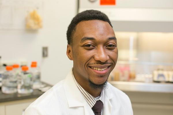 Salim Jones was unemployed and living with his parents when he applied to the BioTechnical Institute's training program.