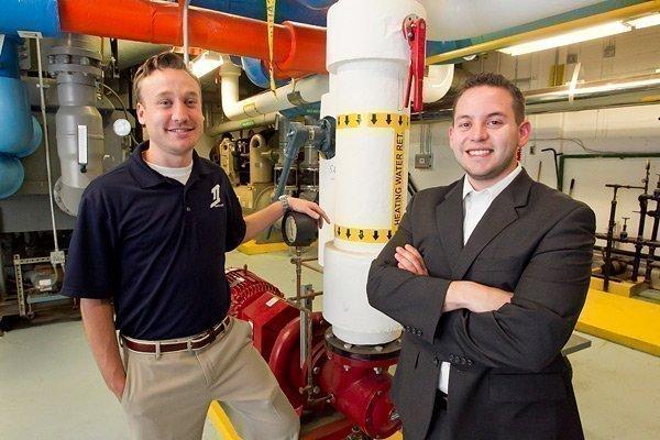 Iraq War vets Sean Keyman and Jon De Wald run Trifecta Industries.