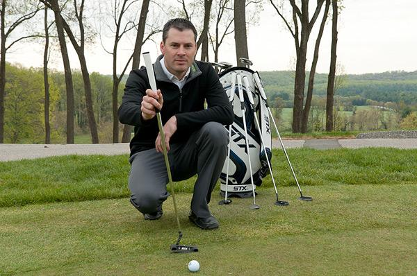 Steve Henneman, director of golf for STX, wants golf sales to increase.