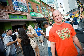 Tom Leonard, of Pickles Pub, says he'll be ready for next year's race.