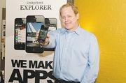 Best app creation: Alexander + TomAlexander + Tom President Billy Twigg has enjoyed national — and international — exposure.