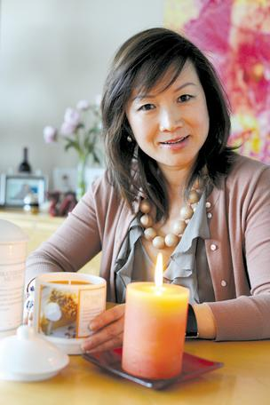 Mei Xu's company will make 3 million candles annually in Anne Arundel County once her firm's new plant is operational.