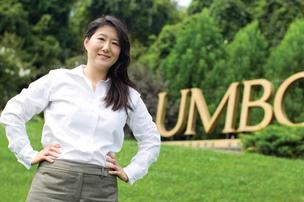 Jeehye Yun applied her experience as a UMBC teacher when she developed Secured Sciences Group.