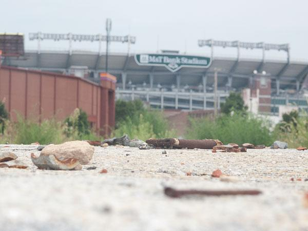 A Baltimore casino is planned for land just south of M&T Bank Stadium.