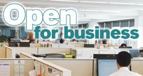 The Open For Business initiative will be unveiled Dec. 14 at Osceola Heritage Park in Kissimmee and will be a featured link on participating jurisdictions' websites.