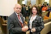Nanda Sen, President, EBA; Maria Miskimon, Marketing Manager, EBA