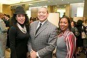 Rhonda Overby, President/CEO, Camera Ready; Wayne Frazier, Sr., President, MWMCA; Portia Borden, Marketing & Outreach Executive, Plexus Com Group