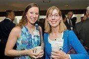 Erika Pecora, account executive, Gross, Mendelsohn & Associates; Barbara Jeffries, chief financial officer, Maryland Food Bank