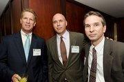 Chip Olsen, managing director, CBRE; Ketch Secor, vice president, CBRE; Ray Sweet, PSA Insurance