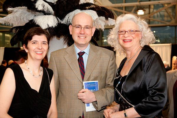 Kees Heesters (columnist, KN Magazine), SBLC Board Chair Anne Schroth (attorney, Reno & Cavanaugh), Sonia Socha (executive director, South Baltimore Learning Center)