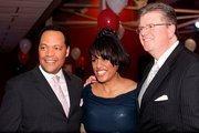 SBLC Gala Emcee Vytas Reid (chief meteorologist, Fox 45), Mayor Stephanie Rawlings-Blake, Jeff Barnd (anchor, Fox 45)