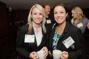 Susan Snyder, account executive, Robert Half Associates; Phaedra Cusson, account executive, Robert Half Associates