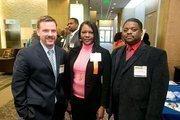Jon Graham, Executive Account Manager, CTI; Karen Shaw, Office Manager, Shantech Electric Inc; Theron Shaw, Project Superintendent, Shantech Electric Inc