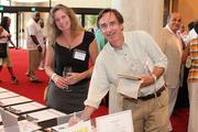 Laurie Karll, Prudential Penn-Fed Realty; Dr. Brian Flowers, York Laboratory Associates