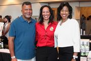 David Crockett; Gloria Crockett, Maryland state vice president, American Cancer Society; and Lisa Bradshaw, account executive, WJZ-TV13.