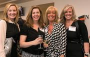 Susan Welsh, location manager, Ernst & Young; Karen Cherry, director, Cushman & Wakefield; Sharon Justice, president and owner, Justice Construction Group LLC; and Janeann Walsh, leasing manager, Attman Properties.