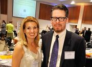 Tricia Granata Eisner, executive director, Network for Teaching Entrepreneurship, Baltimore Affiliate; Shelly Blake-Plock, co-executive director, Digital Harbor Foundation