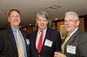 Tom Brandt, jr., CFO, Telecommunications Systems; Ross Adams, president, Baker-Meekins Co.; Patrick Moore, sr. account executive, Wells Fargo