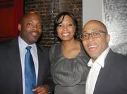 Mareco Edwards, insurance program manager, D.C. Office of Risk Management; Allie McGrier Wright, associate general counsel, Allegis Group; Jay Stafford, associate, DLA Piper.