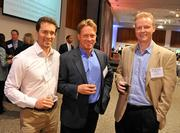 Mark Grovic, general partner, New Markets Venture Partners; Rick Geritz, CEO, Life Journey; Erik Ginsberg, managing member, Slate Capital Group