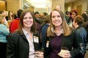 Talia Peery, Senior Consultant, Impact HR; Pam Pitman, Associate Director, Business Development, Ernst & Young