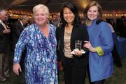 Dr. Carole Miller, Cancer Center director, Saint Agnes Institute; Marie Hartman, partner and co-founder, Hartman Executive Advisors; P.J. Mitchell.