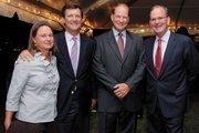 Christy DiPietro; David DiPietro; Tom Robinson, senior adviser, Stifel; Mark Fetting,2013 private sector campaign chairman,United Way of Central Maryland.