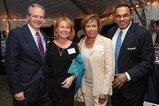 Alan Wilson, CEO, McCormick & Co. Inc.; Wendy Wilson; Jackie Hrabowski; Freeman Hrabowski, president, University of Maryland Baltimore County.