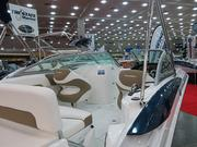 The SouthWind 2400 is 24 feet and starts at $73,182, although Boat Show customers can get it for $63,962 including trailer.