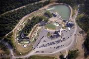Adventure Sports Center International sits at the top of Wisp Mountain in Garrett County. The man-made course is open from May through October for whitewater thrills.