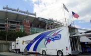 American LeMans Series cars started rolling into Baltimore on Wednesday. The ALMS paddock is outside M&T Bank Stadium in Lot C.      The Grand Prix of Baltimore is set for Aug. 31-Sept. 2.