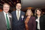 John Buettner, Stevenson University, Barry Rosen, Gordon, Feinblatt LLC; Glenda LeGendre, Stevenson University; and Debby Kraft, Stevenson University.