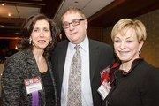 Maria Fleischman, Innovative Gourmet Catering and Events; Barry Fleischman, Innovative Gourmet Catering and Events; and Edie Brown, Edie Brown & Associates.