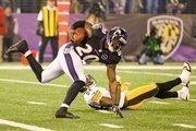Safety Ed Reed had a 34-yard interception return in the fourth quarter.Photo by:Nicholas Griner | Staff