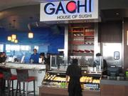 Gachi House of Sushi opened on Oct. 26 on the airport's Concourse A. Paul Wiedefeld, BWI's executive director, said the sushi restaurant is a model for what future concessions could look like at the airport: sleek, high-end and well incorporated into the airport's overall design.