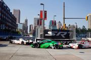 The American Le Mans series raced through the streets of Baltimore Saturday, Sept. 2.