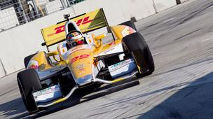 Ryan Hunter-Reay finished first at the Grand Prix of Baltimore Sept. 2.