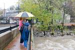 TUESDAY STORM PHOTOS: Damage, flooding could keep New York, other airports closed past Wednesday