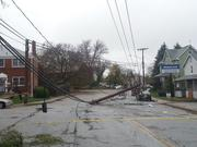 Many roads, like Ingleside Avenue and Eastshire Drive in Catonsville, remained impassable.
