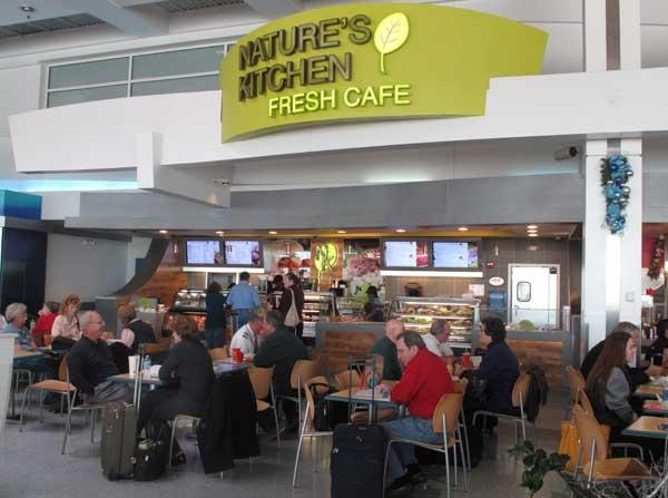 AirMall USA has added or remodeled numerous concessions at Baltimore/Washington International Thurgood Marshall Airport over the last six months. Check out some of the new places that will greet holiday travelers flying out of BWI this season. Above, a new Nature's Kitchen location at the airport.