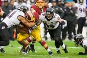 Defensive end Paul Kruger had a monster game, recording 1.5 sacks and seven tackles. But is was not enough to slow Redskins rookie quarterback Robert Griffin III.